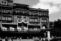 Montreal avant ou durant la visite du Roi George VI<br /> - le magasin MORGAN du Carre Philippe<br /> <br /> PHOTO :  Agence Québec Presse