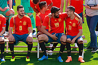Spain's Koke Resurreccion, Diego Costa and Lucas Vazquez official photo session. June 5,2018.(ALTERPHOTOS/Acero) /NortePhoto.com NORTEPHOTOMEXICO
