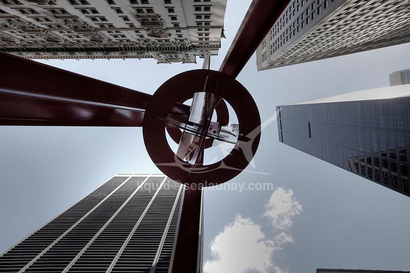 Wall Street, Manhattan, New York City.