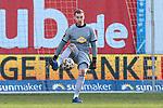 20.02.2021, xtgx, Fussball 3. Liga, FC Hansa Rostock - SV Waldhof Mannheim, v.l. Timo Koenigsmann (Mannheim, 1) Freisteller, Einzelbild, Ganzkoerper, single frame <br /> <br /> (DFL/DFB REGULATIONS PROHIBIT ANY USE OF PHOTOGRAPHS as IMAGE SEQUENCES and/or QUASI-VIDEO)<br /> <br /> Foto © PIX-Sportfotos *** Foto ist honorarpflichtig! *** Auf Anfrage in hoeherer Qualitaet/Aufloesung. Belegexemplar erbeten. Veroeffentlichung ausschliesslich fuer journalistisch-publizistische Zwecke. For editorial use only.
