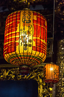 George Town, Penang, Malaysia.  Chinese Lanterns, Khoo Kongsi, a Hokkien Chinese Temple and Clan House.