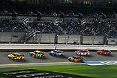 #20: Erik Jones, Joe Gibbs Racing, Toyota Camry DeWalt and #18: Kyle Busch, Joe Gibbs Racing, Toyota Camry M&M's