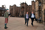 First Minister of Scotland Alex Salmond hosted a reception and Dinner at Edinburgh castle this evening for the the Arab Corps of Ambassadors, the Ambassadors were treated to an evening of Scottish fayre and entertainment inclusing highland dancing.Pic Kenny Smith, Kenny Smith Photography.6 Bluebell Grove, Kelty, Fife, KY4 0GX .Tel 07809 450119,