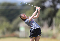 Esther Papuni during the New Zealand Amateur Golf Championship, Poverty Bay Golf Course, Awapuni Links, Gisborne, Thursday 22 October 2020. Photo: Simon Watts/www.bwmedia.co.nz