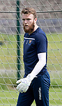 St Johnstone Training….29.06.19   McDiarmid Park, Perth<br />Keeper Zander Clark<br />Picture by Graeme Hart.<br />Copyright Perthshire Picture Agency<br />Tel: 01738 623350  Mobile: 07990 594431