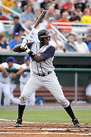 June 26th 2008:  Calvin Anderson of the State College Spikes, Class-A affiliate of the Pittsburgh Pirates, during a game at Falcon Park in Auburn, NY.  Photo by:  Mike Janes/Four Seam Images