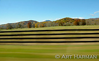 """Blur of Motion"" Hills and fences anda special effect!"