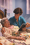 Hospice situation at home with Mother and Daughter. R#2402