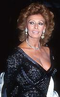 Sophia Loren 1992, Photo By John Barrett/PHOTOlink