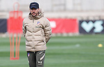 Atletico de Madrid's coach Diego Pablo Cholo Simeone during training session. March 8,2021.(ALTERPHOTOS/Atletico de Madrid/Pool)