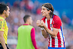 Filipe Luis of Atletico de Madrid reacts during their La Liga match between Atletico de Madrid and Sevilla FC at the Estadio Vicente Calderon on 19 March 2017 in Madrid, Spain. Photo by Diego Gonzalez Souto / Power Sport Images