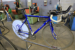 Historical De Rosa bikes on display in the De Rosa factory, Cusano Milanino, Italy. 12th October 2018.<br /> Picture: Eoin Clarke | Cyclefile<br /> <br /> <br /> All photos usage must carry mandatory copyright credit (© Cyclefile | Eoin Clarke)
