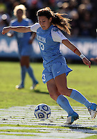SAN DIEGO, CA - DECEMBER 02, 2012:  Brooke Elby (93) of the University of North Carolina during the NCAA 2012 women's college championship match, at Torero Stadium, in San Diego, CA, on Sunday, December 02 2012. Carolina won 4-1.