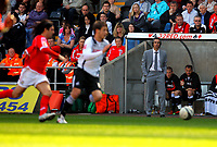 ATTENTION SPORTS PICTURE DESK<br /> Pictured:<br /> Re: Coca Cola Championship, Swansea City Football Club v Barnsley at the Liberty Stadium, Swansea, south Wales. Saturday 17 April 2010
