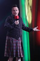 le controversé humoriste Mike Wardau festival Juste pour rire, juillet 2014<br /> <br /> PHOTO : Agence Quebec Presse