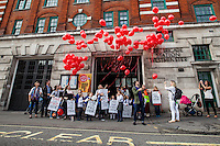 """25.09.2013 - University of London Union: """"Support Our Fire Fighters!"""""""