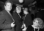 MASSIMO GARGIA E MARIA PIA FANFANI<br /> FESTA DELLO STILISTA MIGUEL CRUZ A LA TAMPA MILANO 1987
