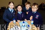 Ardfert NS taking part in the Cara Credit Union School Quiz in the I T Tralee on Sunday. <br /> L to r: Hazel O'Sullivan, Rachel Lennon, Luke Baxter and Alex Thornton.