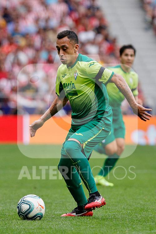 Fabian Orellana of SD Eibar in action during La Liga match between Atletico de Madrid and SD Eibar at Wanda Metropolitano Stadium in Madrid, Spain.September 01, 2019. (ALTERPHOTOS/A. Perez Meca)