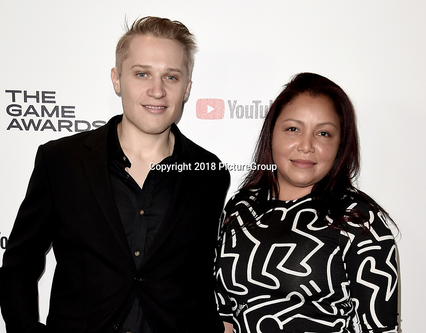 LOS ANGELES - DECEMBER 6: Brad Thomas and Becky Thomas attend the 2018 Game Awards at the Microsoft Theater on December 6, 2018 in Los Angeles, California. (Photo by Scott Kirkland/PictureGroup)