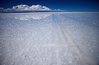 """Uyuni Salt Flats, Bolivia<br /> April 19, 2012<br /> A view of the Uyuni Salt Flats covered with water, the largest salt desert in the world and one of the main attractions for the Dakar 2014 next January.  ©PATRICIO CROOKER/ARCHIVO LATINO For  the first time in its history,  in January 2014 the Dakar Rally will  be cross part of Bolivia, one of the wildest South American nations.  """"The organizers of the Dakar, attracted by the discovery of new spaces, were conquered by Bolivian landscapes that can be classified among the most striking of the continent,"""" says the official site of the international race.<br /> The most impressive is the section that runs through the Salar of Uyuni,  considered the world's largest salt flat and a place of surreal beauty, almost otherworldly.<br /> The competition is scheduled for  in January 2014. Our photographer and  friend Patricio Crooker  show us  the unique beauty of the places the rally will hit."""