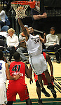 Reno Bighorns Antoine Wright shoots against the Idaho Stampede during a basketball game Sunday, April 1, 2012 in Reno, Nev. Idaho won 108-99..Photo by Cathleen Allison