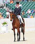 William Fox-Pitt and Sea Cookie salute: dressage test at Rolex