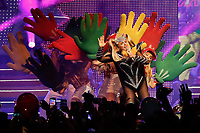 """SÃO PAULO, SP 17.08.2019: XUXA-SP - A cantora Xuxa Meneghel apresentou o show da turnê """"'Xuxa Xou""""' na noite deste sábado (17), no Credicard Hall, zona sulda capital paulista. (Foto: Ale Frata/Código19)"""