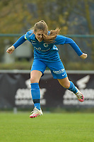 Genk's midfielder Sien Vandersanden  pictured during a female soccer game between SV Zulte - Waregem and KRC Genk on the 8 th matchday of the 2020 - 2021 season of Belgian Scooore Women s SuperLeague , saturday 21 th of November 2020  in Zulte , Belgium . PHOTO SPORTPIX.BE | SPP | DIRK VUYLSTEKE