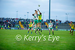 Action from Ballydonoghue v Gneeveguilla in the 2020 County Junior Premier football final