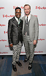 Billy Porter and boyfriend attends the Opening Night After Party for 'Falsettos'  at the New York Hilton Hotel on October 27, 2016 in New York City.