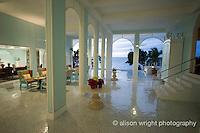 The Caribbean, Anguilla. The newly renovated Malliouhana Hotel and Spa.