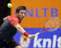 15-12-12, Rotterdam, Tennis Masters 2012, Igor Sijsling wins the Tennis Masters 2012.