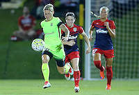 Boyds, MD - Wednesday Sept. 07, 2016: Jessica Fishlock, Diana Matheson during a regular season National Women's Soccer League (NWSL) match between the Washington Spirit and the Seattle Reign FC at Maureen Hendricks Field, Maryland SoccerPlex.