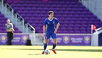 Orlando, Florida - Monday January 15, 2018: Oliver Shannon. Match Day 2 of the 2018 adidas MLS Player Combine was held Orlando City Stadium.