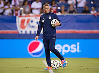 Boca Raton, FL - October 14, 2014: The USMNT tied Honduras 1-1 during an international friendly at FAU Stadium.
