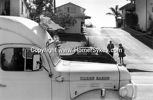 Power Wagon van. Carmel by the Sea California USA 1971.