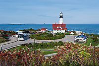 Portland Head Light Station, Cape Elizabeth, Maine, USA.