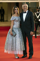 Penelope Cruz and Alberto Barbera attending the Closing Ceremony Red Carpet as part of the 78th Venice International Film Festival in Venice, Italy on September 11, 2021. <br /> CAP/MPI/IS/PAC<br /> ©PAP/IS/MPI/Capital Pictures