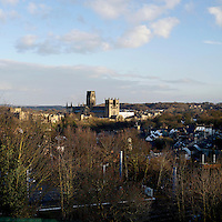 A view of Durham and Durham Cathedral.
