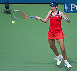 Christina McHale (USA) loses to Ana Ivanovic (SRB) 4-6, 7-5, 6-4 at the US Open being played at USTA Billie Jean King National Tennis Center in Flushing, NY on August 31, 2013