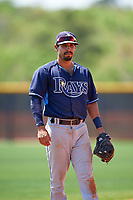Tampa Bay Rays Peter Maris (59) during a minor league Spring Training intrasquad game on April 1, 2016 at Charlotte Sports Park in Port Charlotte, Florida.  (Mike Janes/Four Seam Images)