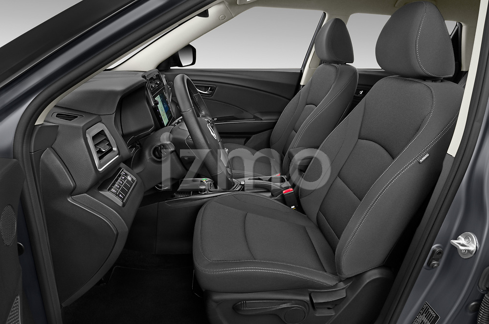 Front seat view of 2020 Ssangyong Tivoli Quartz 5 Door SUV Front Seat  car photos