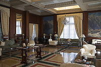 Europe/Espagne/Iles Canaries/Tenerife/Santa Cruz de Tenerife: Hoel Mencey détail d'un salon