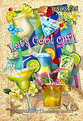 Lori, STILL LIFE STILLEBEN, NATURALEZA MORTA, paintings+++++1-LetsCooloff,USLS85,#i#, EVERYDAY, ,summer,beach,fun,maritime,cocktails