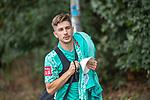 10.09.2020, Trainingsgelaende am wohninvest WESERSTADION - Platz 12, Bremen, GER, 1.FBL, Werder Bremen Training<br /> <br /> <br /> <br /> Romano Schmid (Werder Bremen 20)<br /> Einzelaktion, Halbkörper / Halbkoerper,<br /> <br /> <br /> Foto © nordphoto / Kokenge
