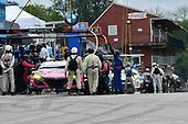 #86 Meyer Shank Racing w/Curb-Agajanian Acura NSX GT3, GTD: Mario Farnbacher, Matt McMurry  pit stop