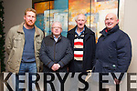 AGM: Attending the Kerry County Board AGM at the Ballyroe Heights hotel on Monday l-r Fergus Stack Beale, Pat Lynch Beale, Liam Brown Beale, Eddie Mulvihill Moyvane