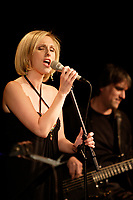 Montreal (Qc) CANADA - November 28, 2007-<br /> <br /> Genevieve Charest perform at Montreal's Place des Arts 5th room.