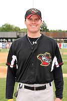 May 15, 2010: Timothy Leveque of the Quad City River Bandits at Elfstrom Stadium in Geneva, IL. The River Bandits are the Class A affiliate of the St. Louis Cardinals. Photo by: Chris Proctor/Four Seam Images